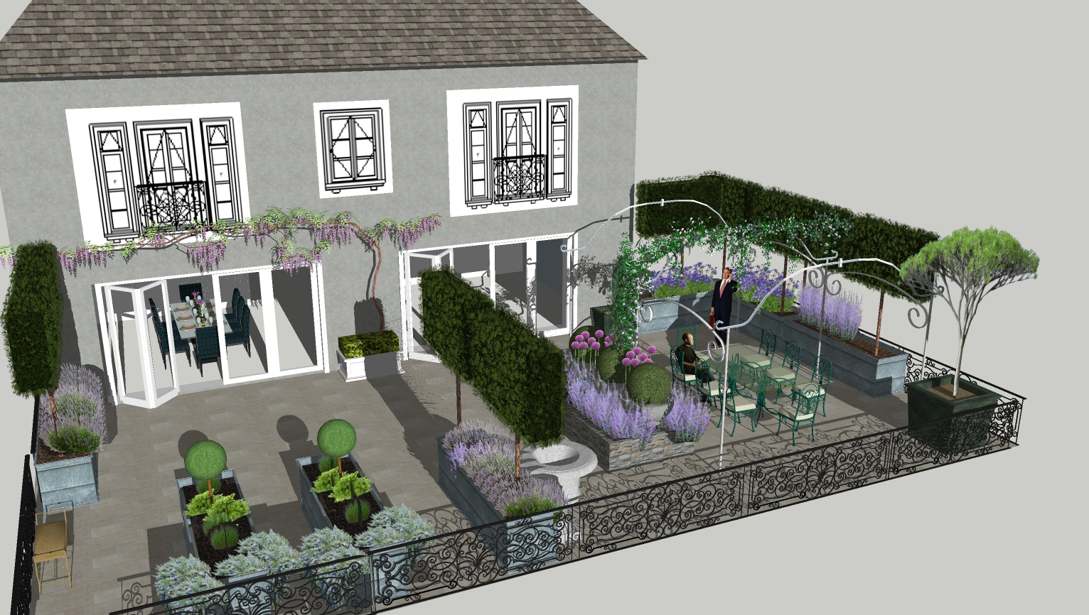 Dorset garden design