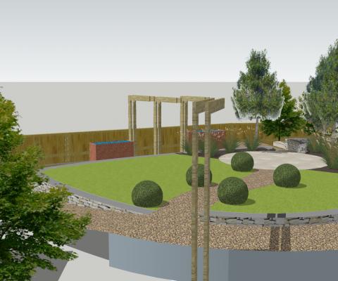 garden design Milborne Port Dorset