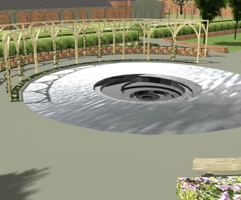 National trust garden Proposal pool