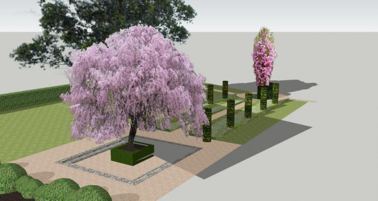 Garden 3d model