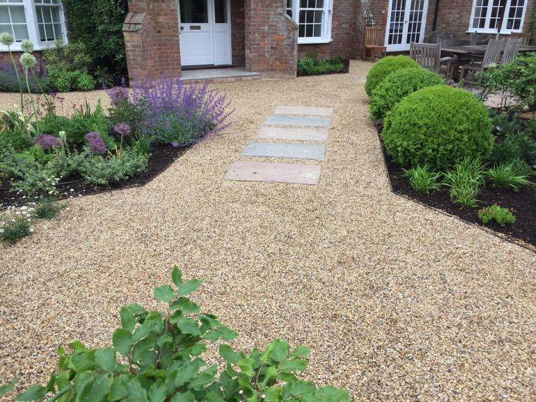 Garden design, landscaping