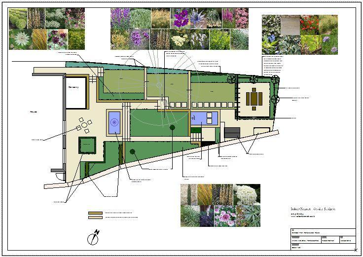 contemporary classic garden plan